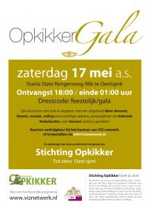 Gala op 17 mei in Stania State. Nog kaarten verkrijgbaar, info@viznetwerk.nl